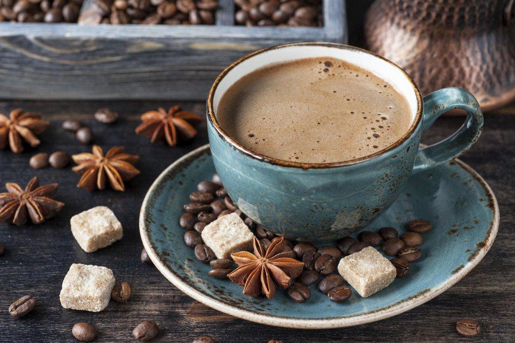 Чашечка ароматного кофе решит все проблемы