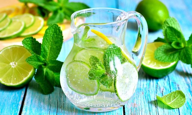 Освежающие напитки по-домашнему