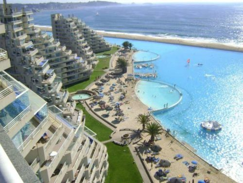 Самый большой бассейн в мире — Сан Альфонсо дель Мар, Чили