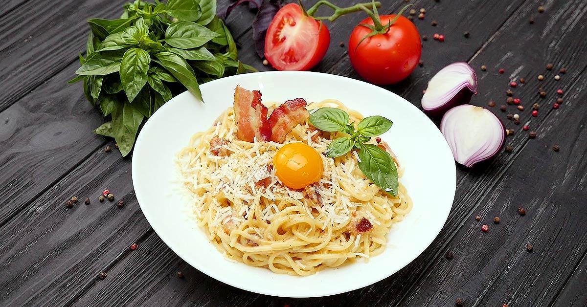 Рецепт приготовления пасты Карбонара и соуса Карбонара