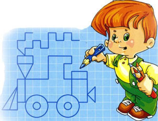Графические диктанты для детей 6-7 лет