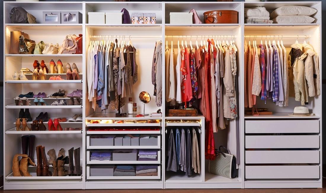 Как правильно складывать вещи в шкафу, чтобы там всегда был идеальный порядок