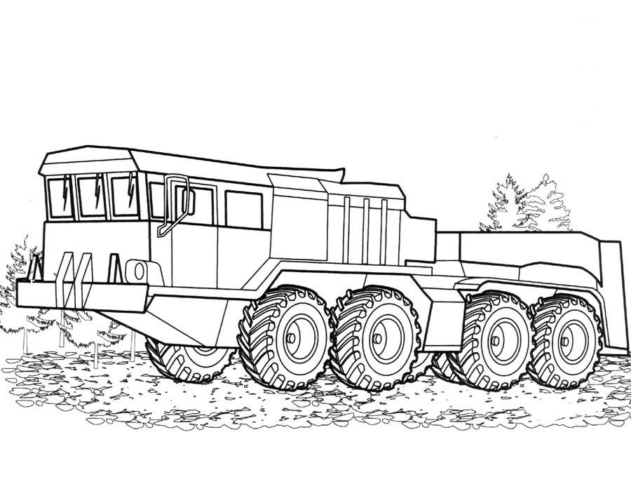 Раскраски Военные машины