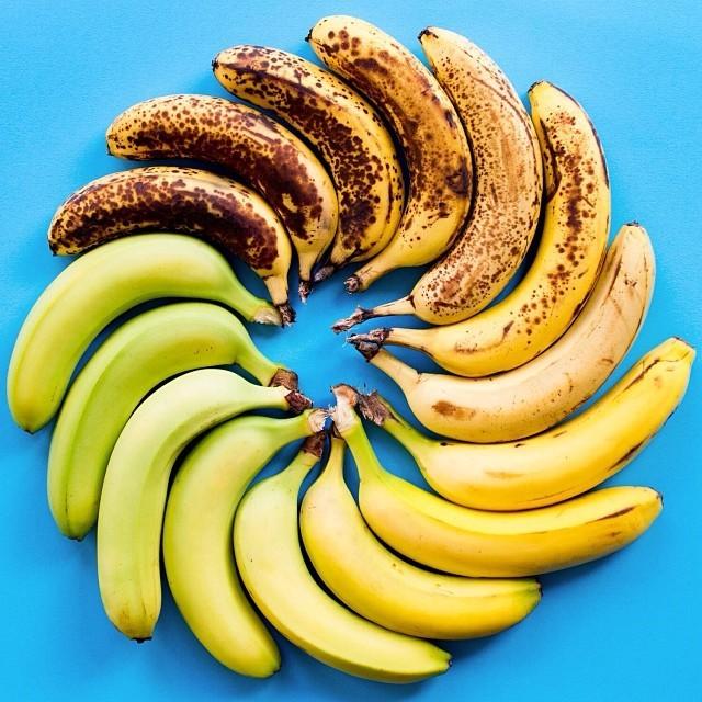 Как потемневший банан превратить в светлый