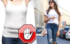 как спрятать живот за одеждой