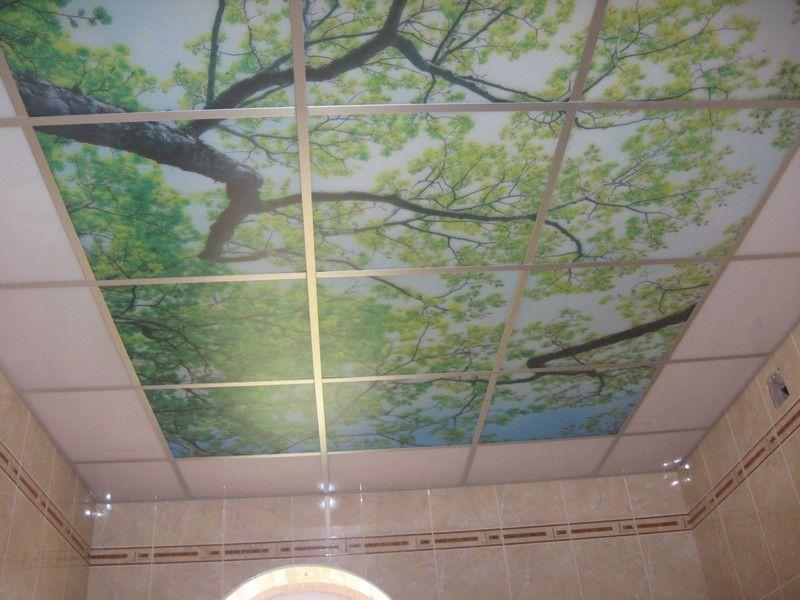 Как и чем мыть панели на потолке
