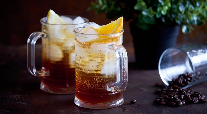 КОФЕЙНЫЙ лимонад. Стоит попробовать – это супер вкусно.