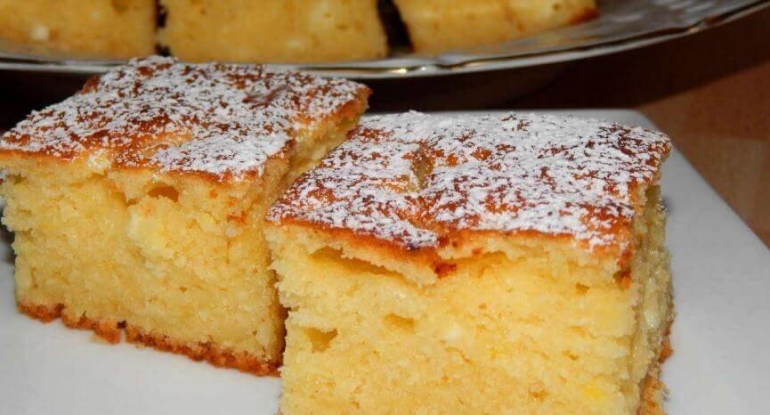 Самый вкусный пирог с творогом за 30 минут