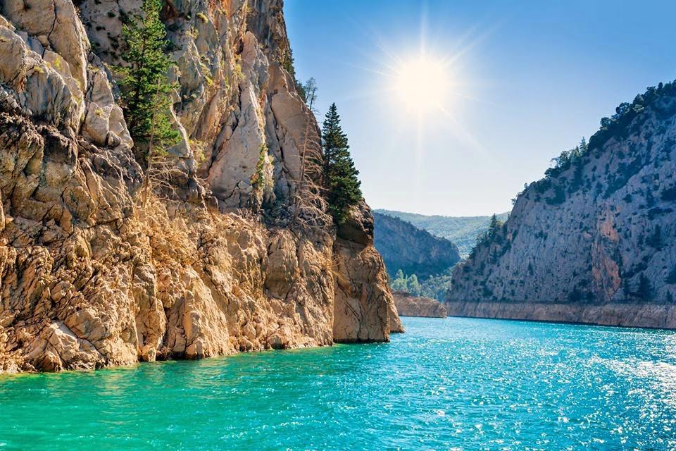 Зелёный каньон Сиде, Турция
