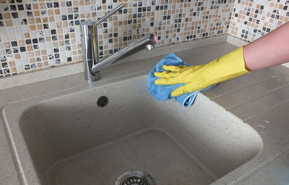 Как отмыть керамическую раковину