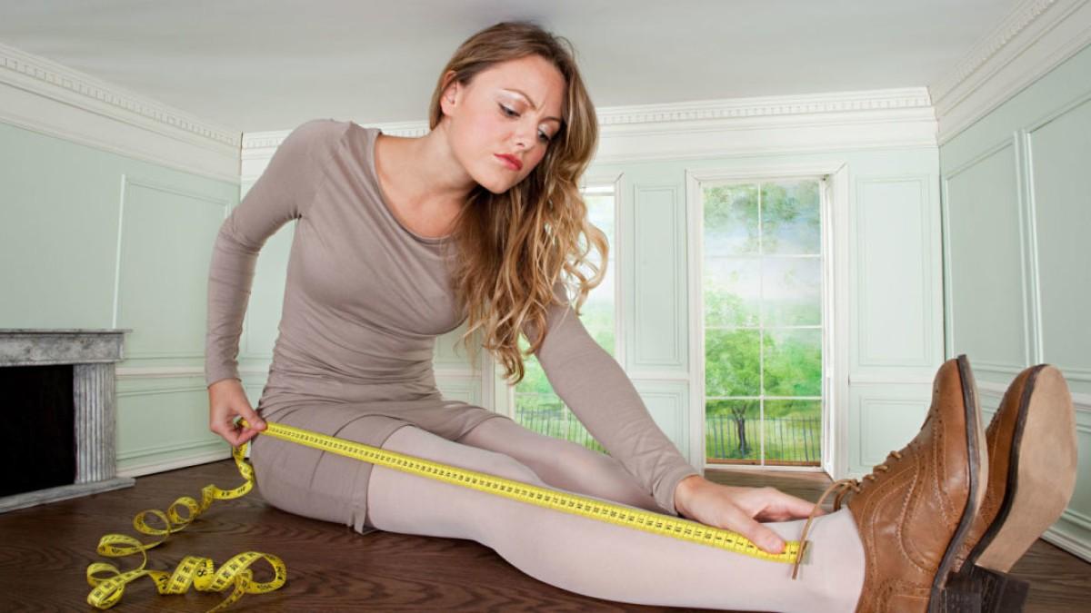 Как измерить длину ног