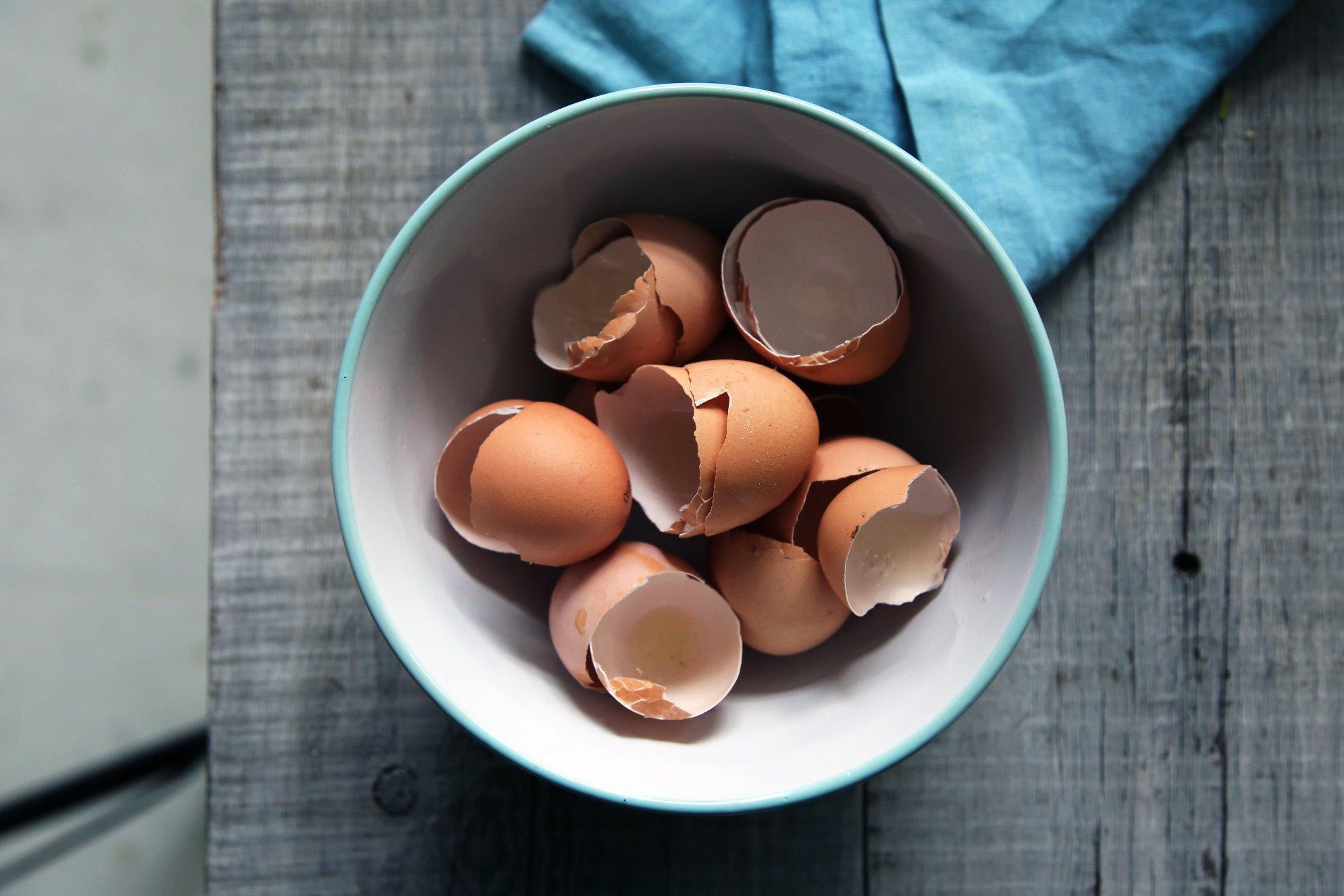 Как приготовить удобрение из яичной скорлупы