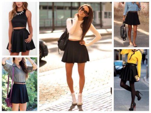 Черная юбка: must-have в любом возрасте