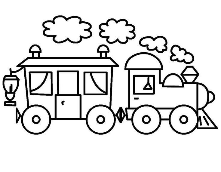Раскраски для маленьких Транспорт