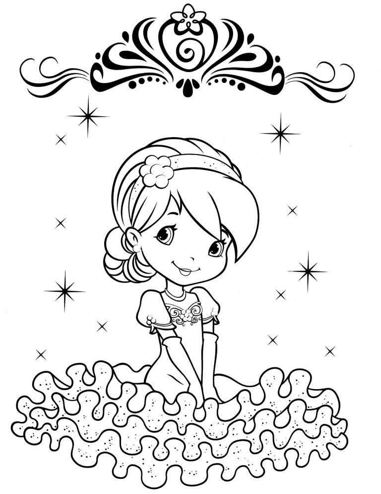 Раскраски для маленьких Принцессы