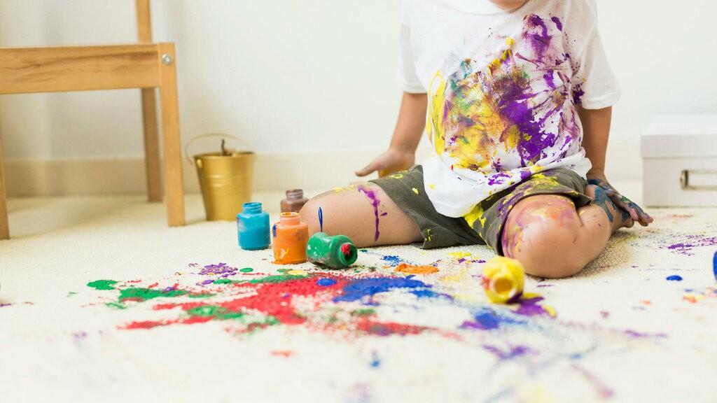 Как от вещей отстирать краску в домашних условиях