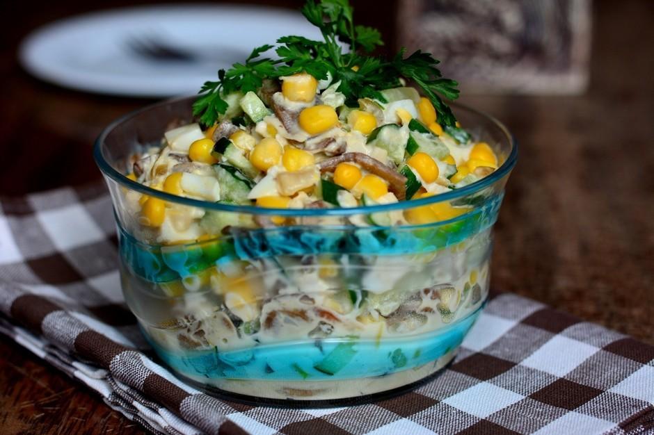 Вкусный салатик «Зодиак»