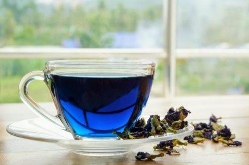 Синий чай из тайланда — полезные свойства и противопоказания