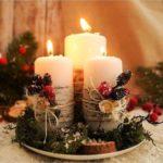 композиции со свечами своими руками