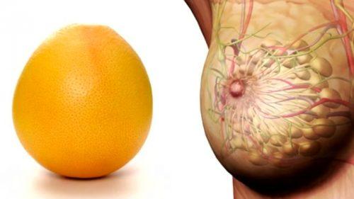 Апельсин=грудь