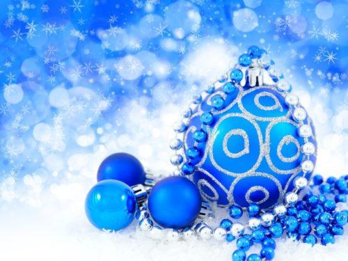 Цвет Нового года 2020 - синий