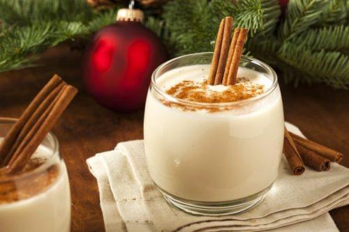 Согревающий пунш с молоком