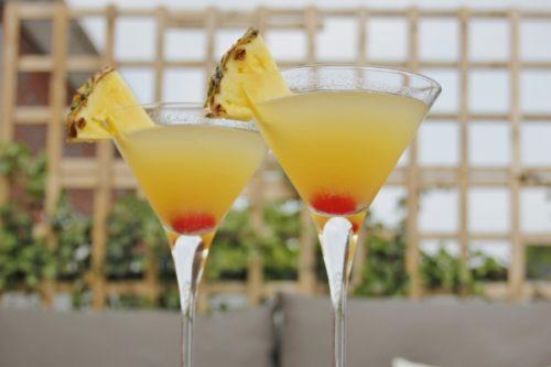 Коктейль джин с мартини