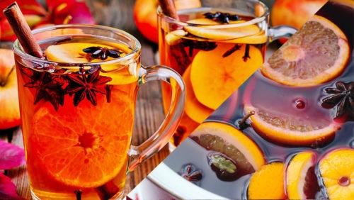 Апельсиновый глёг с фантой и цитрусовыми