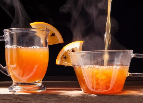 Медово-лимонный пунш