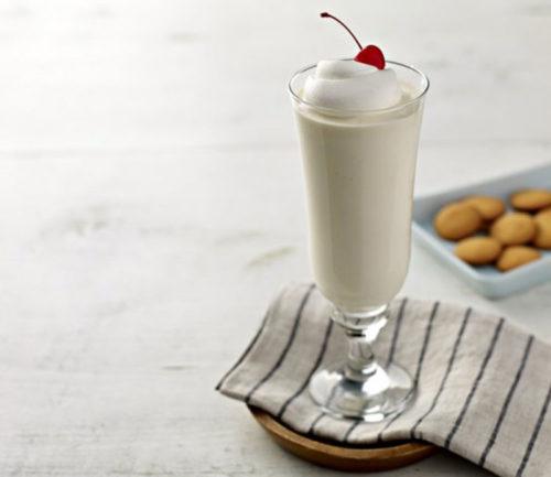 Молочно-ванильный коктейль