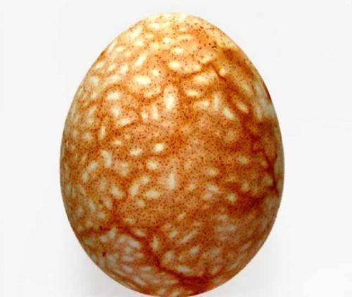 Как покрасить яйца в луковой шелухе с крупой