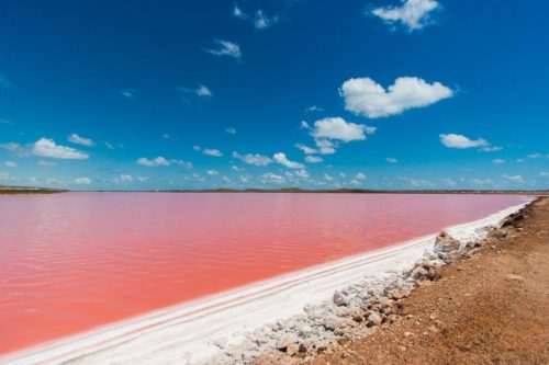 Лагуна Хатт в Австралии