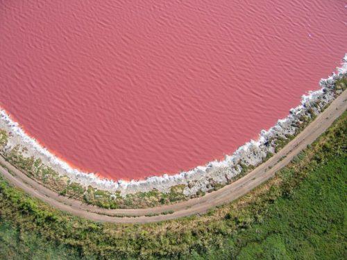 Розовые озера обворожительная красота нашей планеты