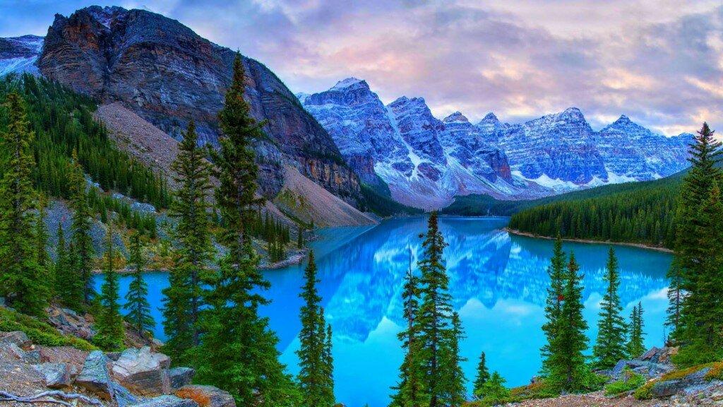 Озёра с самым уникальным окрасом в мире