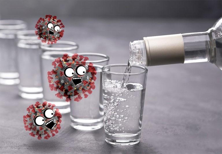 Алкоголь против коронавируса