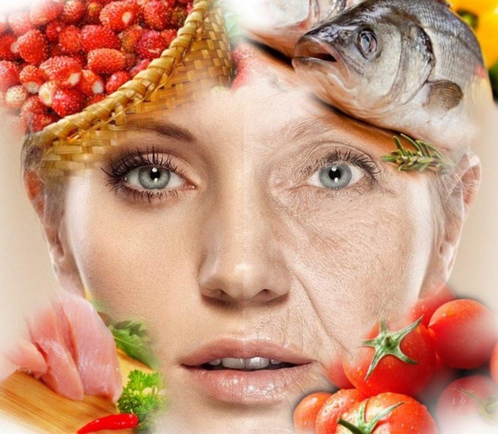 Антивозрастной рацион питания для замедления процессов старения