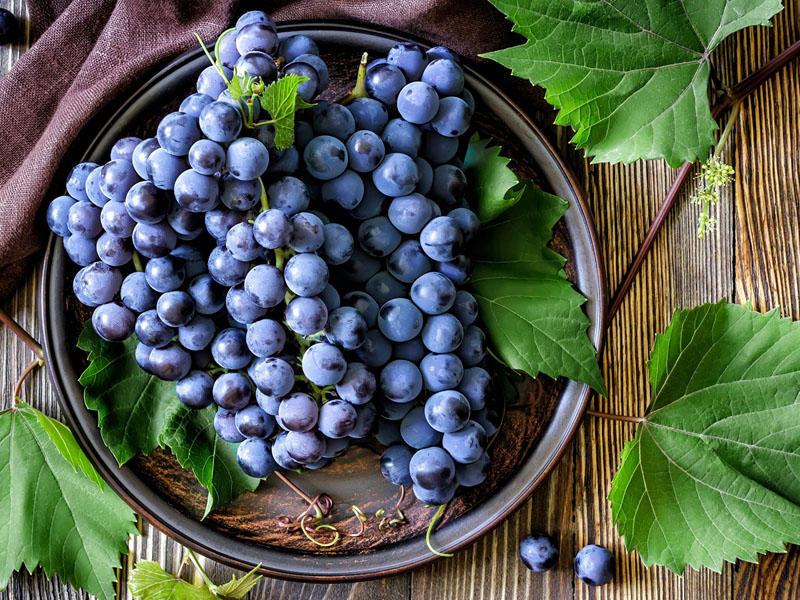 Виноград — полезные свойства и противопоказания