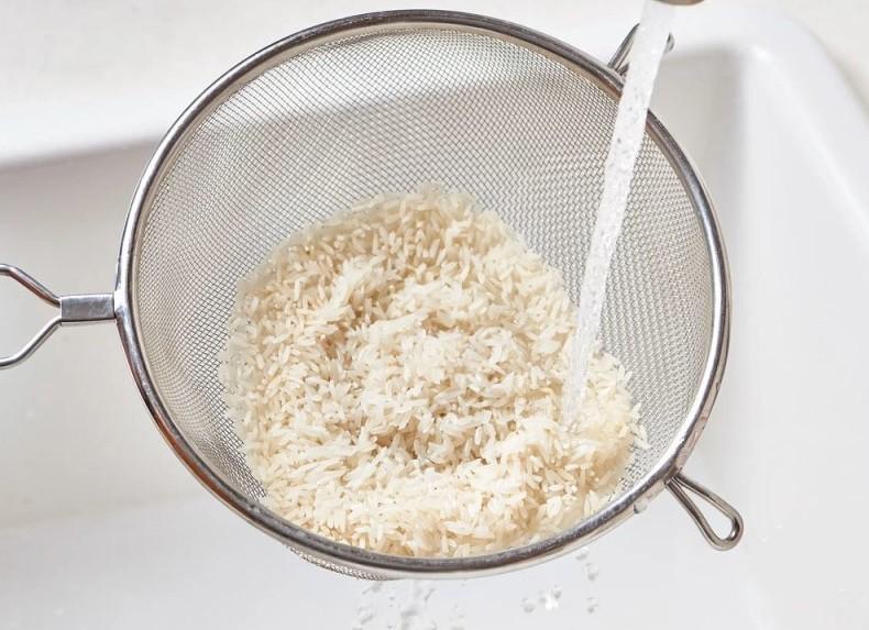 Как правильно промывать рис
