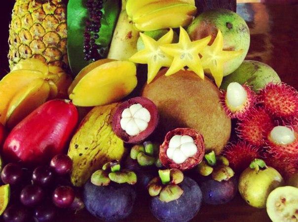 Экзотические ягоды и фрукты Китая