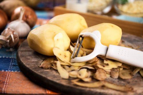 Картофельная кожура — полезные свойства и применение