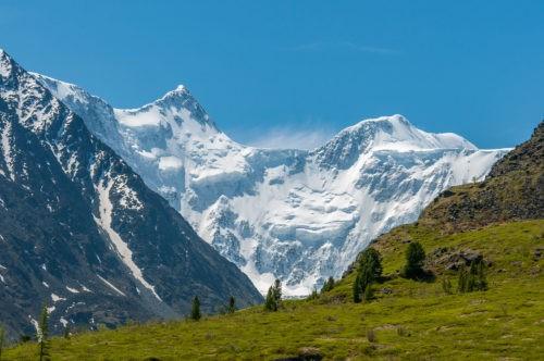 Гора Белуха горный альтай