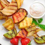 Необычное блюдо из сезонных фруктов на мангале. Удиви гостей!
