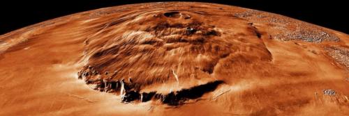 гору Олимп на Марсе